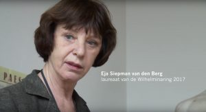 Eja Siepman van den Berg wint Wilhelminaring